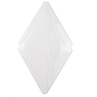 Ganbara 7.5 x 4.5 Ceramic Wall Tile in Blanco