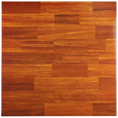 Vaquero 17.75 x 17.75 Ceramic Wood Look/Field Tile in Caramelo