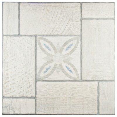 Hokkaido 19.75 x 19.75 Ceramic Field Tile in Gray