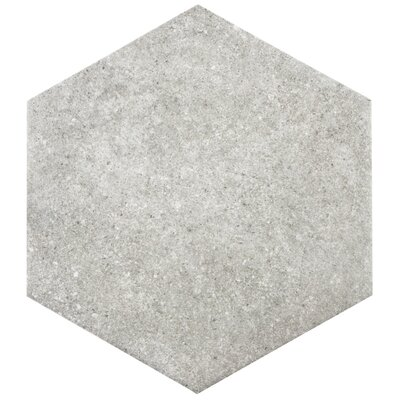 Transit 9.88 x 8.63 Porcelain Floor and Wall Tile in Gray