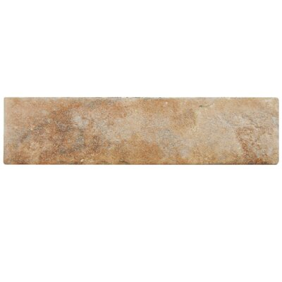 Lincoln 2.5 x 10 Porcelain Field Tile in Brown
