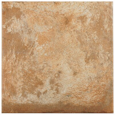 Lincoln 8.75 x 8.75 Porcelain Field Tile in Brown