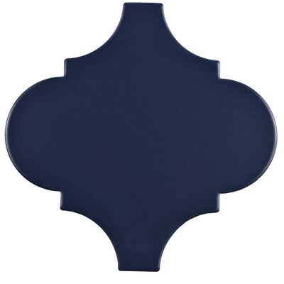 Marcello 8 x 8 Porcelain Field Tile in Lantern Blue