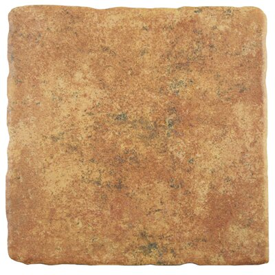 Diego 7.75 x 7.75 Ceramic Field Tile in Marron