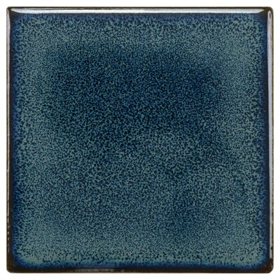 Essentia 4 x 4 Porcelain Field Tile in Sea Blue