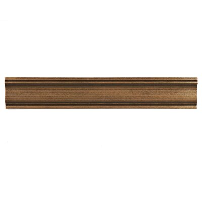 Milton 12 x 2 Counter Rail Tile Trim in Piazza Bronze