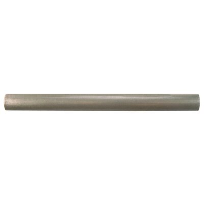 Milton 0.63 x 6 Pencil Liner Tile in Brushed Nickel
