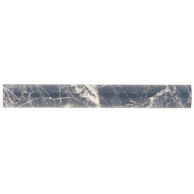 Playa 8 x 1 Ceramic Wall Trim Liners/Pencil Liners Tile in Gray