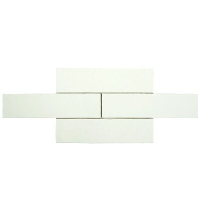 "Tivoli 3"" x 12"" Ceramic Field Tile in Bianco WFWNU32CBI"