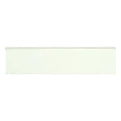 Tivoli 12 x 3 Ceramic Bullnose Tile Trim in Blanco