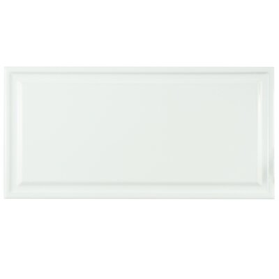 Linio 6 x 12 Ceramic Subway Tile in White