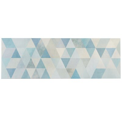Genetique 7.75 x 23.5 Ceramic Field Tile in Blue