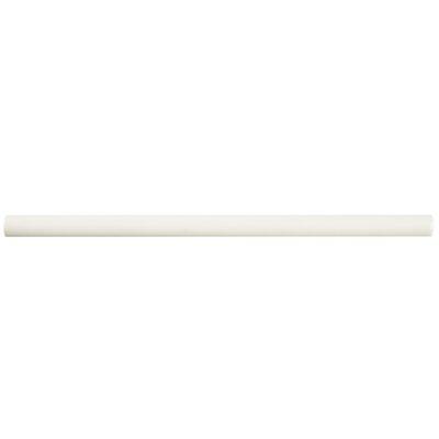 Bira 11.75 x 0.5 Ceramic Cana Cigarro Trim Liners/Pencil Liners Tile in Soft Cream