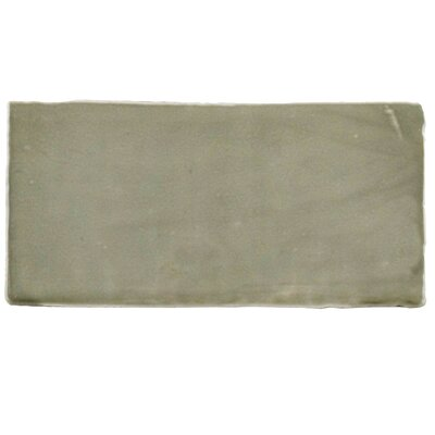 Tivoli 3 x 6 Ceramic Subway Tile in Gray