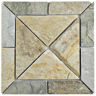 Peak Vintage Random Sized Slate Mosaic Tile in Arizona