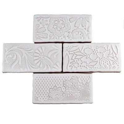 Antiqua 3 x 6 Ceramic Subway Tile in Feelings Milk