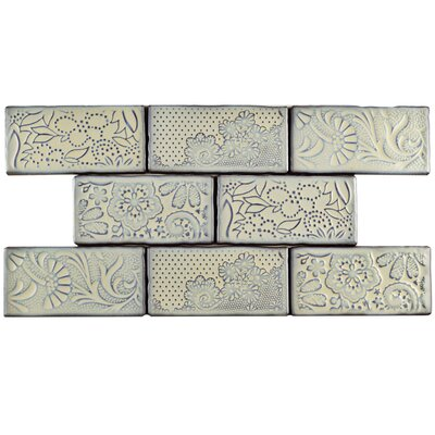 Antiqua 3 x 6 Ceramic Subway Tile in Feelings Pergamon