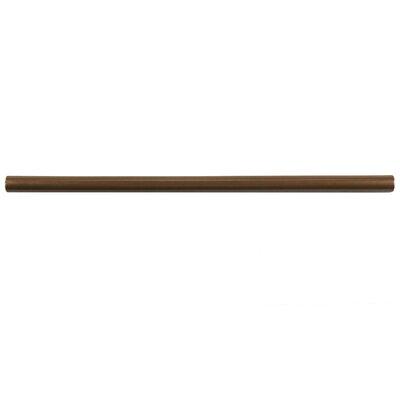Milton 12 x 0.75 Resin Pencil Accent Tile in Bronze