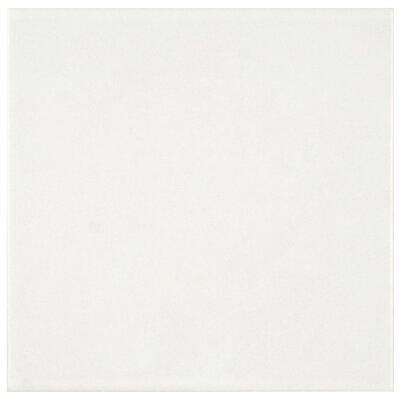 Revive 7.75 x 7.75 Ceramic Field Tile in White
