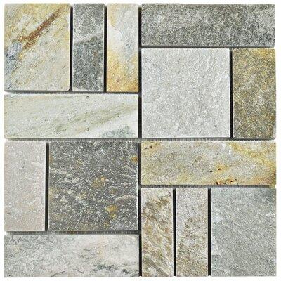 Peak Patchwork Random Sized Slate Mosaic Tile in Arizona