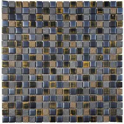 Isle 0.63 x 0.63 Porcelain Mosaic Tile in Baltica