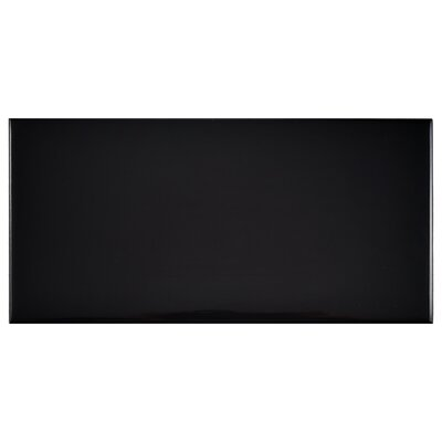 Prospect 3 x 6 Ceramic Subway Tile in Black