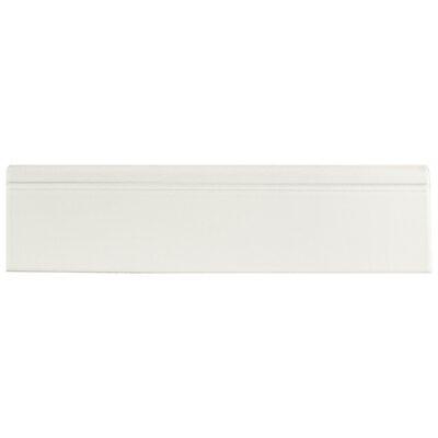 12.38 x 3.25 Base Molding in Matte White