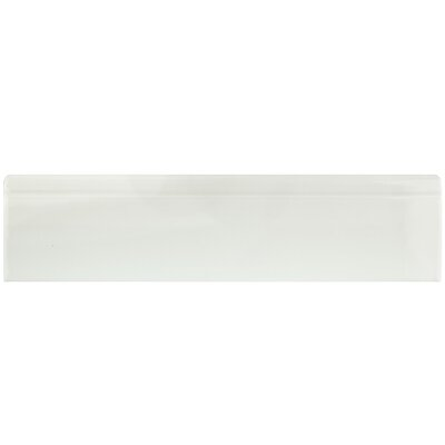 12.38 x 3.25 Base Molding in Glossy White