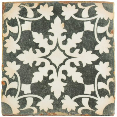 Arquivo 4.88 x 4.88 Ceramic Field Tile in Grey