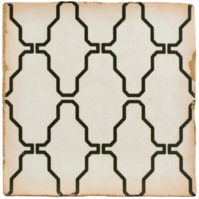 Arquivo 4.88 x 4.88 Ceramic Field Tile in White