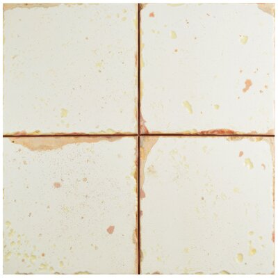 Artisanal 13 x 13 Ceramic Field Tile