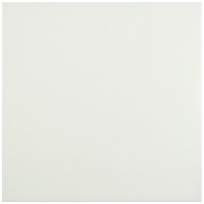Hydraulic 9.5 x 9.5 Porcelain Field Tile in Blanco