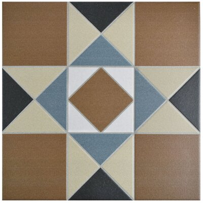 Narcisso 13 x 13 Porcelain Field Tile in Cotto