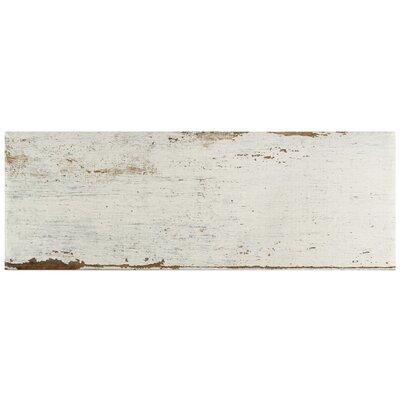 Rama 8.25 x 23.5 Porcelain Wood Look/Field Tile in White