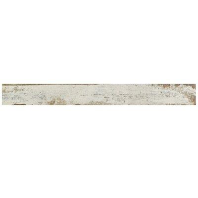Rama 2.75 x 23.5 Porcelain Wood Look/Field Tile in White