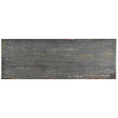 Rama 8.25 x 23.5 Porcelain Wood Look/Field Tile in Gray