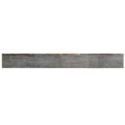 Rama 2.75 x 23.5 Porcelain Wood Look/Field Tile in Gray