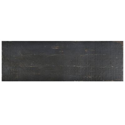 Rama 8.25 x 23.5 Porcelain Wood Look/Field Tile in Black