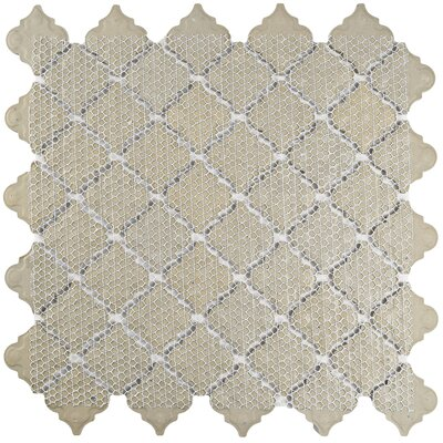 Pharsalia 2 x 2.25 Porcelain Mosaic Tile in Light Green