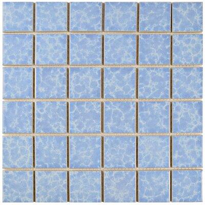 Pool 2 x 2 Porcelain Mosaic Tile in Alboran