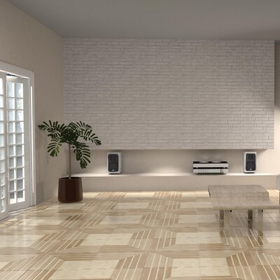 Mirage 17.75 x 17.75 Ceramic Field Tile in Jet Beige