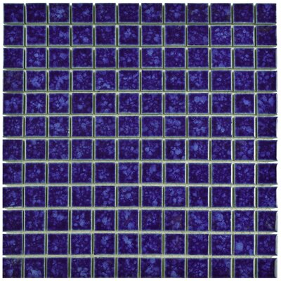 Pool 1 x 1 Porcelain Mosaic Tile in Pacific