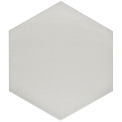 Tessile 8.63 x 9.88 Mosaic Tile in Silver