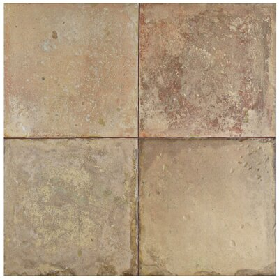 Tartesso 17.63 x 17.63 Ceramic Field Tile in Brown/Beige