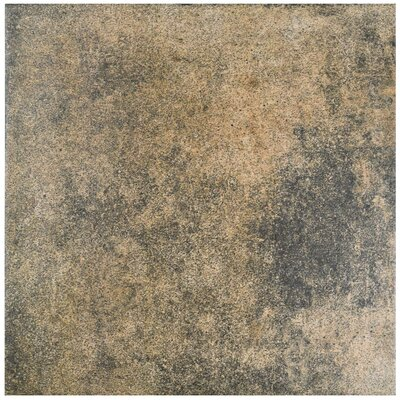 Ventillo 11.88 x 11.88 Porcelain Field Tile in Gray/Beige