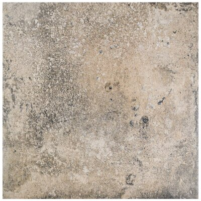 Ventillo 11.88 x 11.88 Porcelain Field Tile in Beige/Gray