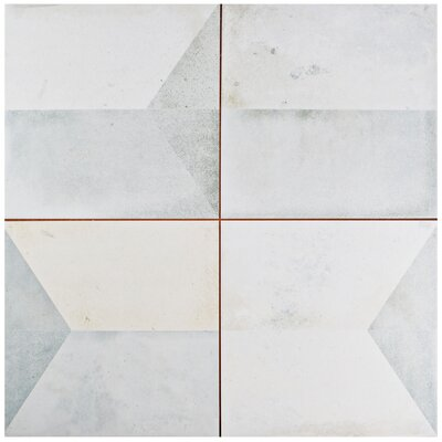 Geamenti 17.58 x 17.58 Ceramic Field Tile in Beige/Gray