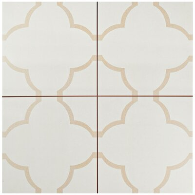 Cumulus 17.63 x 17.63 Ceramic Field Tile in Cream/Beige