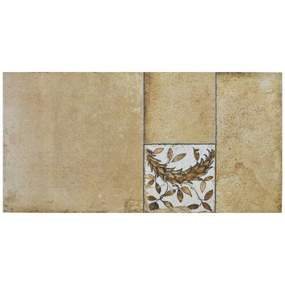 Chanson 11 x 22.13 Porcelain Field Tile in Beige