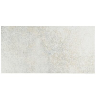 Villa 11 x 22.13 Porcelain Field Tile in Pearl White